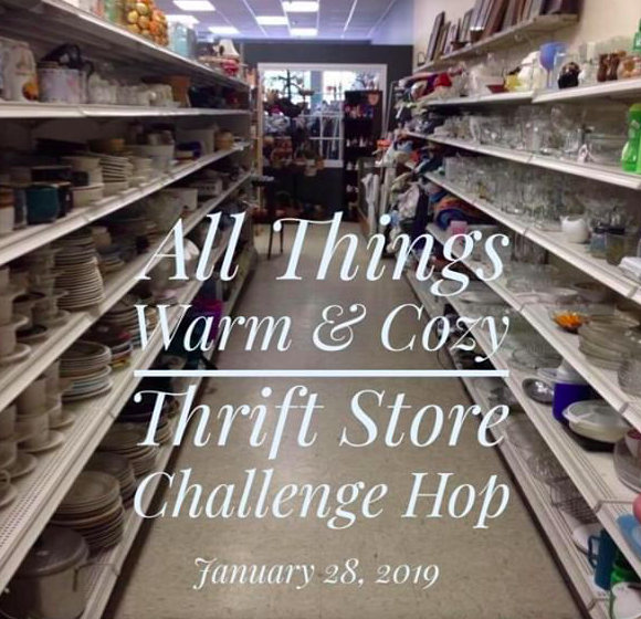 All Things Warm & Cozy : Thrift Store Challenge Hop